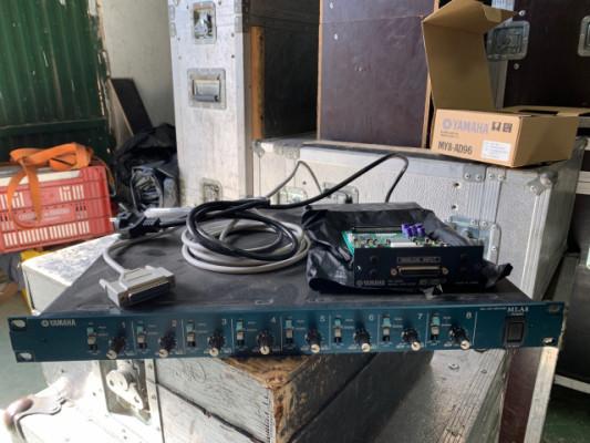 Previo MLA 8 Yamaha y Tarjeta AD96
