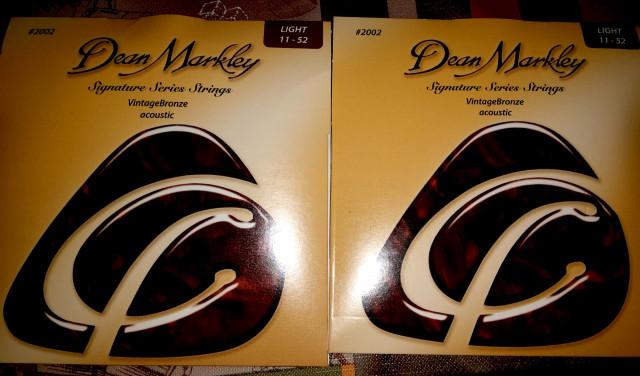 Juegos de cuerdas guitarra eléctrica y acústica Dean Markley