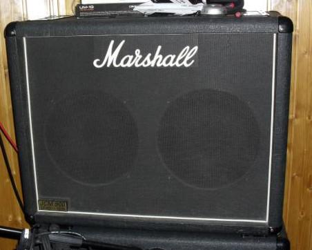 Marshall 2x12 1936 Pantalla UK celestion G12T-75 x2