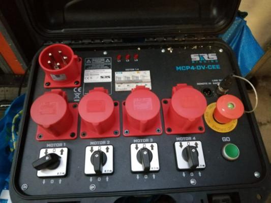 Sistema de Elevación Profesional Motorizado para Orquestas