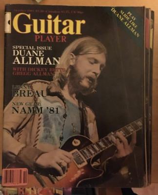 Guitar player 200 números 56esp/137usa
