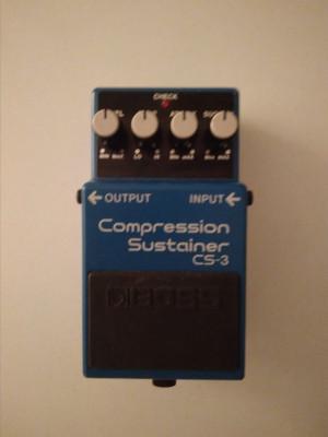 Boss Compression sustainer CS3