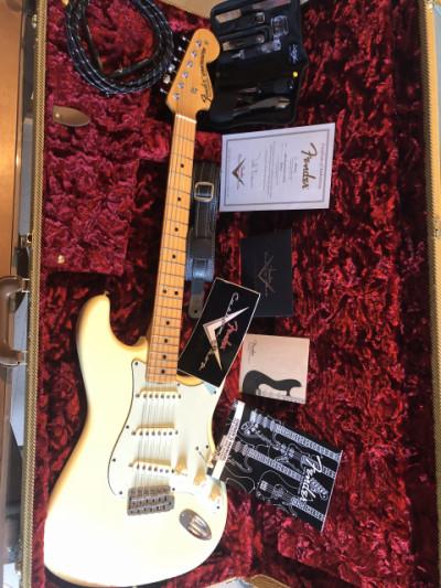 Stratocaster custom master built tod krause