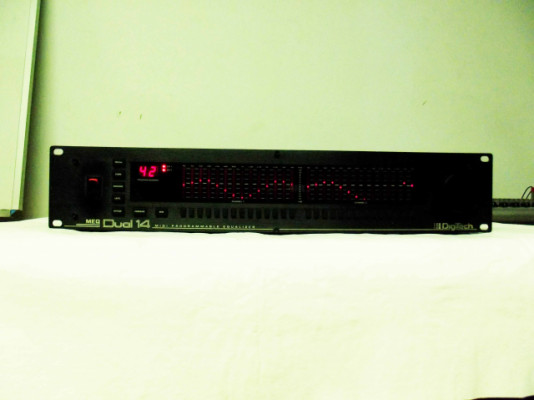 DIGITECH MEQ DUAL 14 ecualizador programable midi
