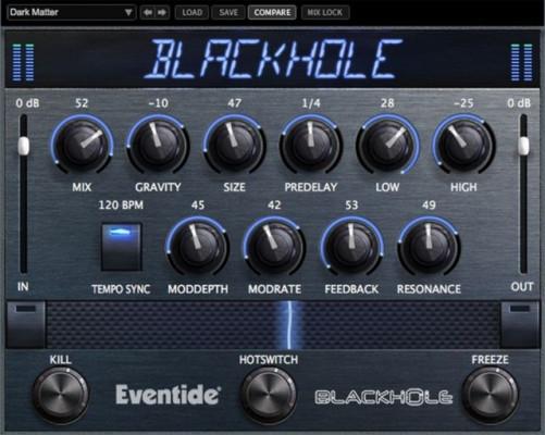 Eventide Backhole Reverb - Transferible