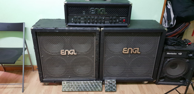 ENGL POWERBALL II+2 ENGL STANDARD+2 pedaleras