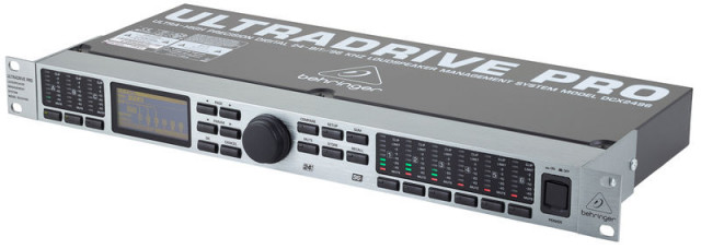 Procesador Behringer DCX2496 Ultradrive Pro