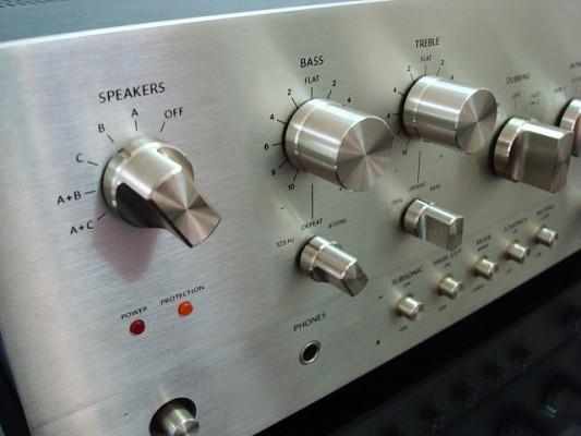 Amplificador ONKYO A10 el mejor y mas grande de Onkyo