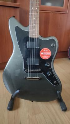 Fender SQUIER Contemporary Active Jazzmaster HH + FUNDA FENDER FEJ610 JAZZMASTER