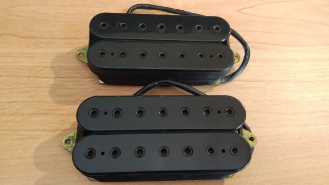 2 Pastillas Dimarzio New 7, 60€, Set para guitarras de 7 cuerdas.