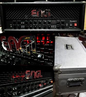ENGL POWERBALL 2 + flightcase de metal
