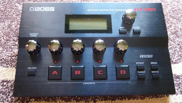 """Boss GT-001 """"Multiefectos de escritorio"""" RESERVADO"""