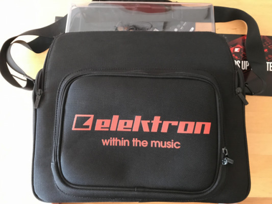 Bolso y tapa protectora Elektron para MKI MK1