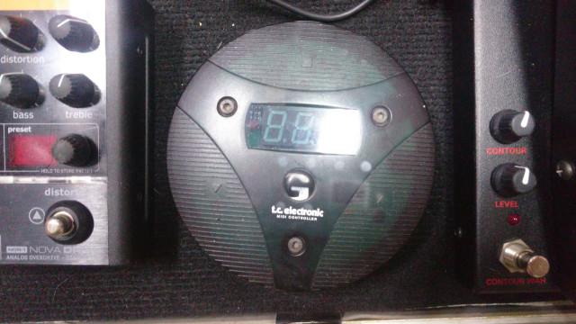 Pedalera Midi TC Electronic G Minor