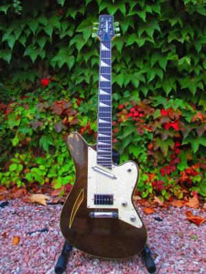 Jackson Surfcaster Thinline MIJ 1998 Translucent Black