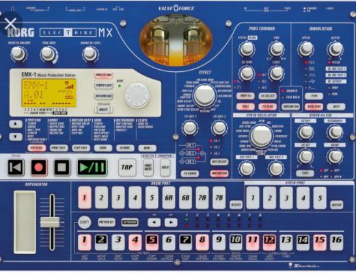 electribe emx (azul)