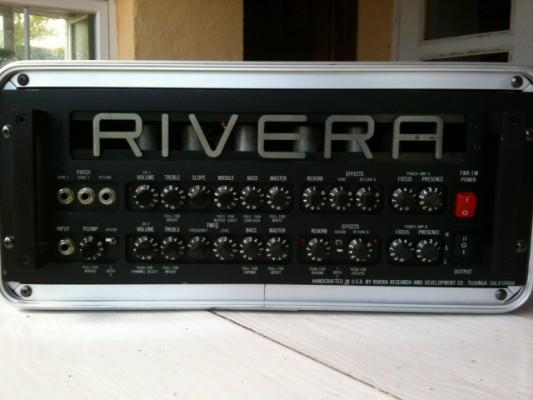 """Cabezal """"Rivera"""" TBR - 1M D 100w años 80"""