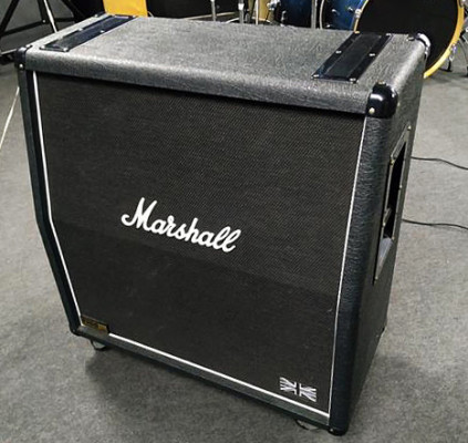 Pantalla Marshall 1960 Lead 4x12 - Made in England