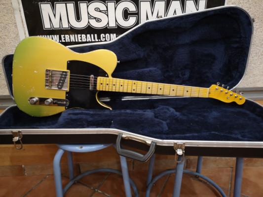 MJT-ALLPARTS(Lic, Fender.).telecaster firemist gold custom relic USA