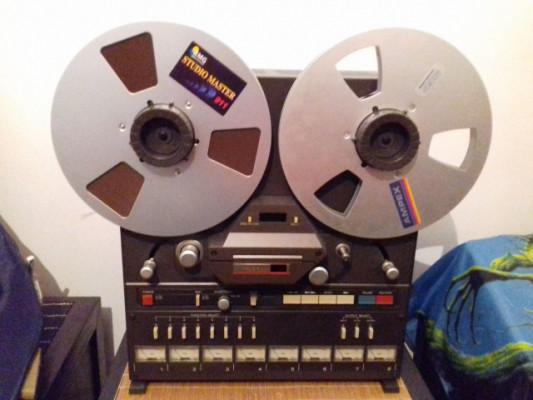 TASCAM 38, 8 pistas, grabador de 1/2 pulgada.