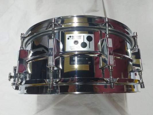 Caja Sonor de 14 x 5'75 casco de una pieza en Ferromanganeso