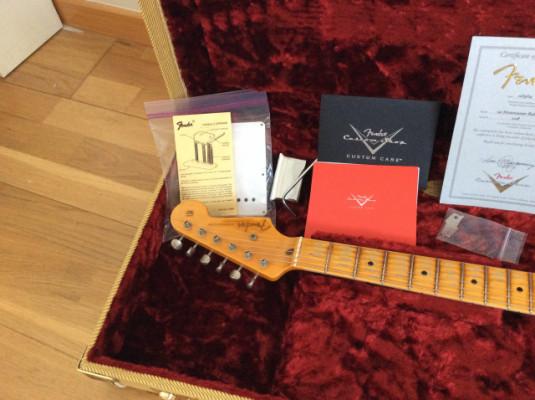 Vendo Fender Custom Shop 54 Stratocaster Relic Solo venta, no cambios