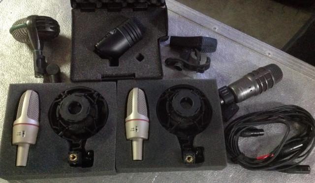 Set de microfonos