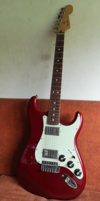 Fender Blacktop Strat HH CAR