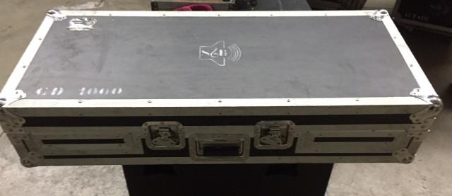 flight cases mesa y cd