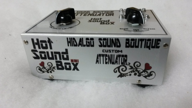 "Atenuador HOT SOUND ""Mini"" BOX. ""Nuevo"""