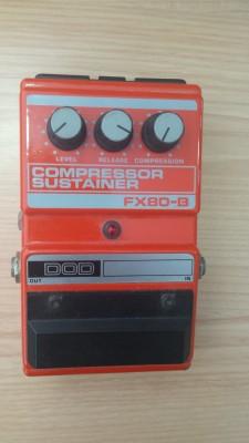 Cambio DOD fx80-B compresor por pedal EQ