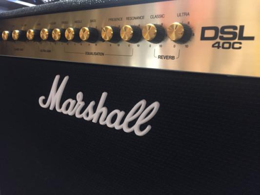 Marshall dsl 40 combo nuevo