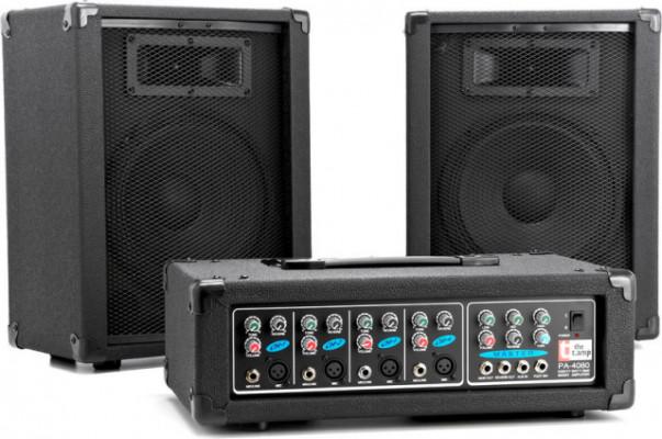 Equipo de sonido, equipo de voces