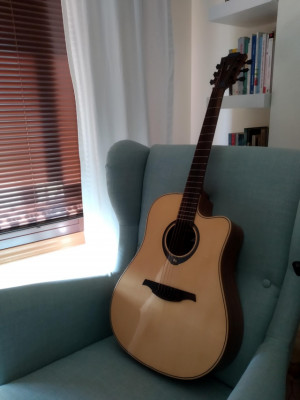 Guitarra LAG THV20 DCE Hyvibe - CAMBIOS