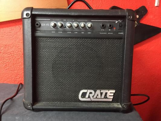 Amplificador Guitarra Eléctrica Crate GX-15