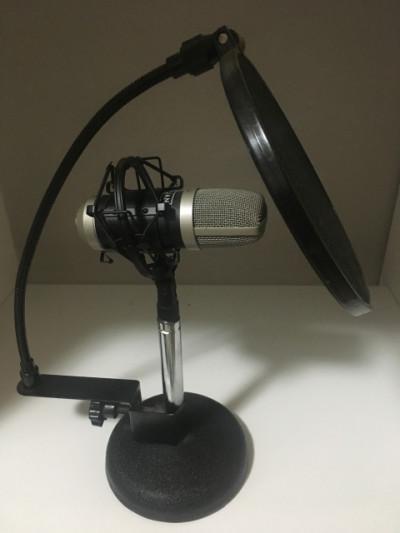 Microfono condensador oqan qmc 20 + extras