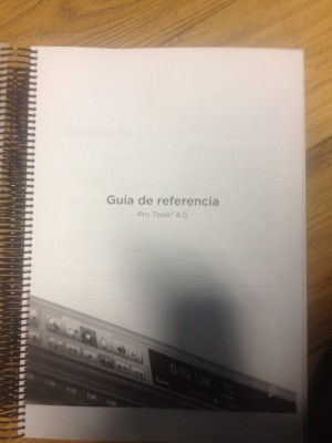 Pro tools 8 manual en español