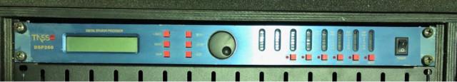 Procesador digital Tasso dsp260