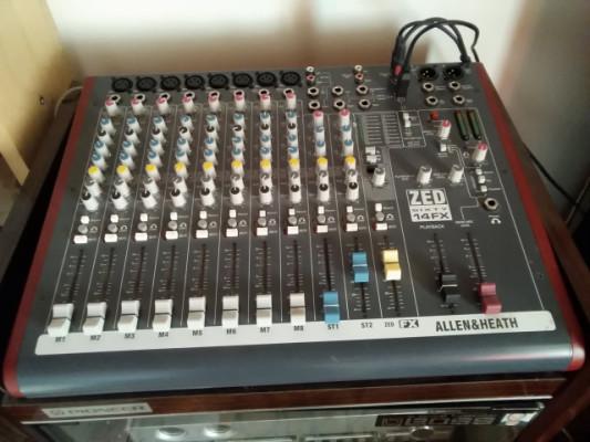 Mesa de mezcla Allen&Heat 60/14 FX