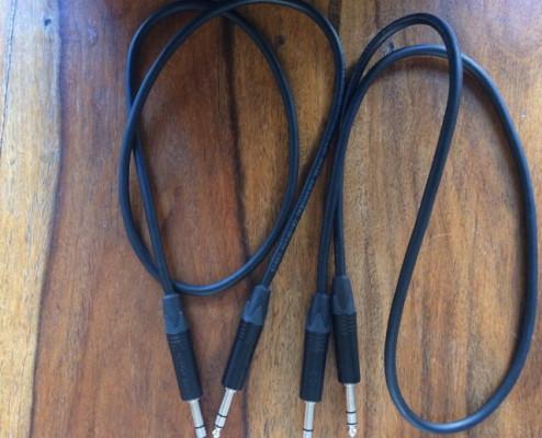 Cables Jack trs - jack trs