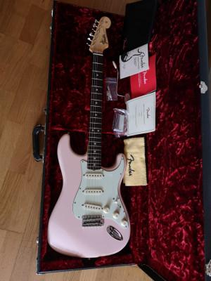 Fender Stratocaster American Original 60 Shell Pink