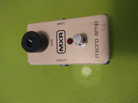 MXR MICRO AMP. ENVIO INCLUIDO.