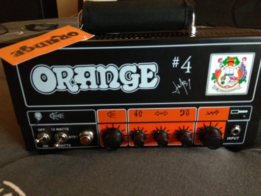 Amplificador Orange Jim Root Terror Amp 7-15w.