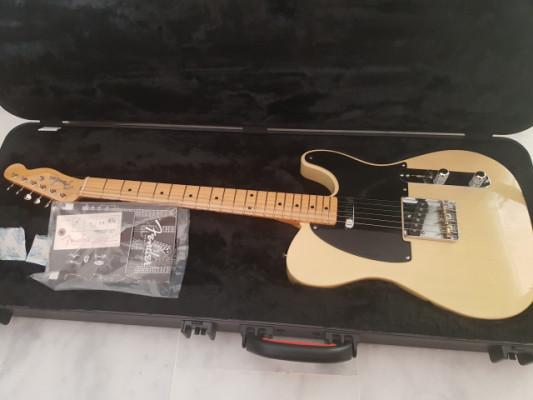 Fender telecaster vintage reissue 52 limited edition korina