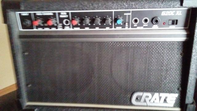 Vendo o cambio amplificador CRATE G20C XL