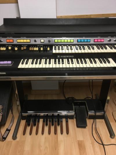 Hammond B200 + Leslie 760