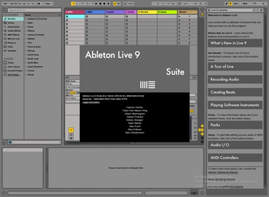 Vendo Ableton live 9 Suite