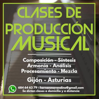 Clases de Producción Musical en Asturias