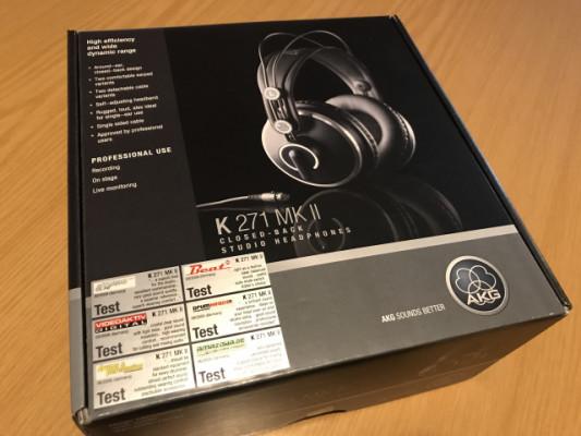 Auriculares AKG K-271 MKII Studio