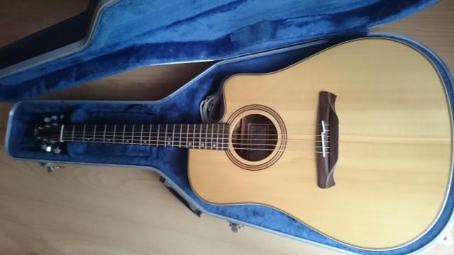Guitarra electroacustica alhambra w1